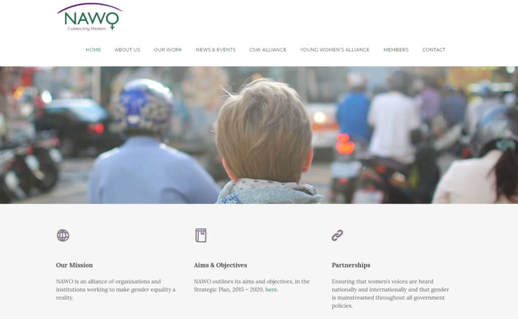NAWO - After Website Design